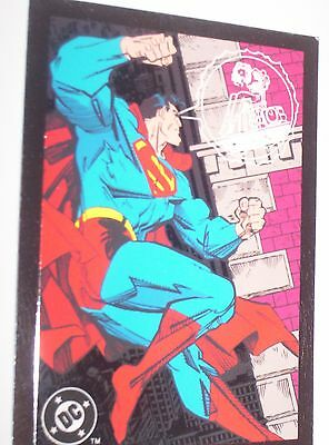 1993 DC COSMIC TEAMS SUPERMAN TRADING CARD PROMO Wizard Skybox The Man of Steel