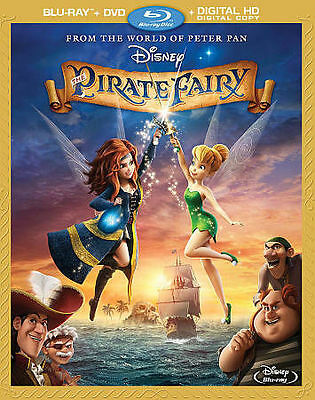 The Pirate Fairy (Blu-ray and DVD, 2014, 2-Disc Set) Walt Disney