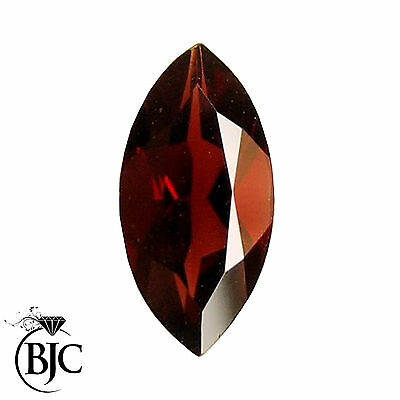 BJC® Loose Natural Garnet Marquise Cut Red - Brown - Pink Great Colours & Cuts