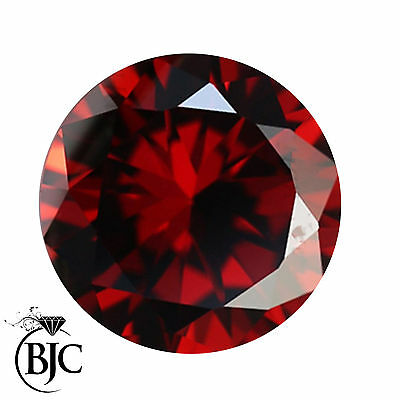 BJC® Loose Natural Garnet Round Cut Red - Brown - Pink Great Colours & Cuts