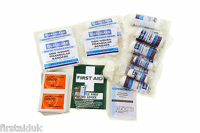 BSi BS-8599 Compliant Workplace Home Office Travel First Aid Kits/Refills CE