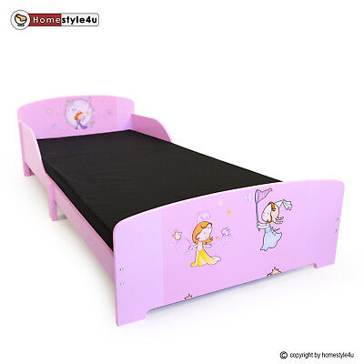 kinderbett jugendbett juniorbett prinzessin kinder bett 90 x 200 kinderzimmer eur 74 95. Black Bedroom Furniture Sets. Home Design Ideas