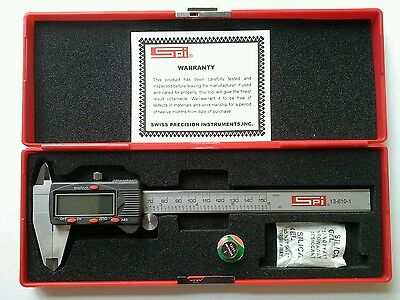 "SPI 150mm / 6""  Digital Vernier Caliper"