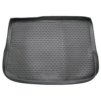 VW Tiguan 07-16 Rubber Boot Liner Tailored Fitted Black Floor Mat Protector Tray