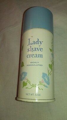 House of Fuller Vintage Advertising Lady Shave Cream almost FULL
