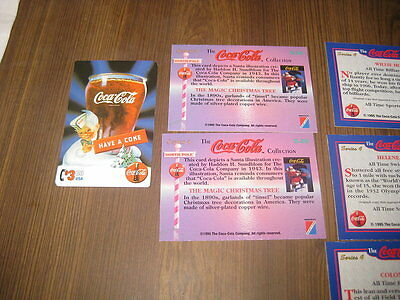 COCA COLA SERIES 4 TRADING CARDS