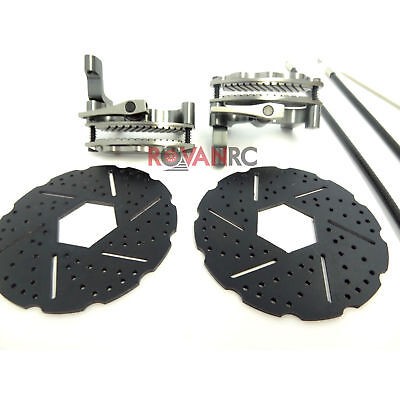 New 1/5 Scale Rovan RC Front Mechanical Brake Kit Fit HPI Baja 5B 5T King Motor