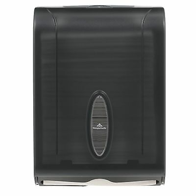 Georgia-Pacific Translucent Smoke C-Fold Multifold Paper Towel Dispenser, NEW