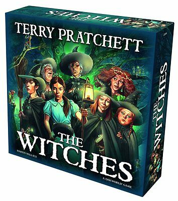 Discworld The Witches Board Game - Brand New!