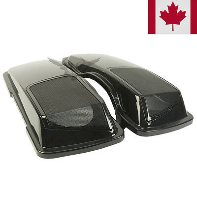 """NEW CVO STYLE 6x9"""" SPEAKER LIDS AND GRILLS FOR HARLEY SADDLEBAGS SADDLE BAGS"""