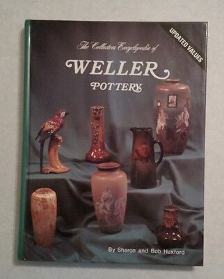 WELLER POTTERY PRICE GUIDE COLLECTOR'S BOOK DICKENS WARE ROSEMONT VASE