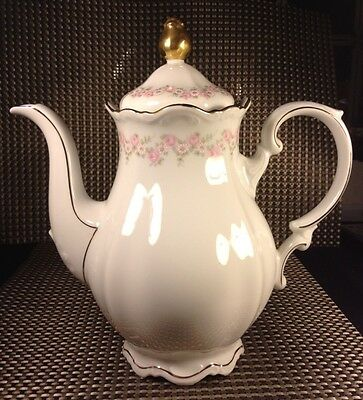 VINTAGE MITTERTEICH LADY BEATRICE TEAPOT Bavaria Germany