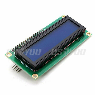 1602 LCD Display Blue IIC/I2C Serial Interface 16X2 Character Module for Arduino