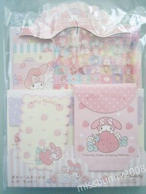 Original Sanrio 2015 Japan My Melody Letter Set Stationery ~ NEW Free Shipping