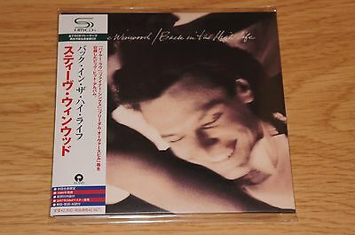 STEVE WINWOOD - BACK IN THE HIGH LIFE JAPAN MINI LP SHM CD UICY-93692 MINT !!!