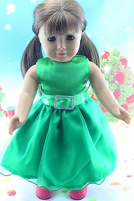 "A+ New Doll Clothes fits 18"" American Girl Handmade Hot Summer Dress X42"