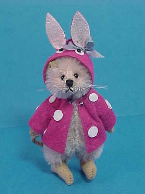 Deb Canham - Monique Mouse With Bunny Hood Cape - From 2013 - LE #55 - Mint