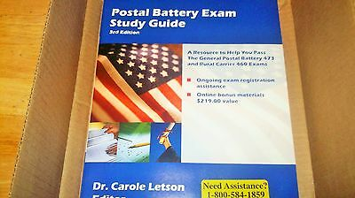 Postal Battery Exam Study Guide by Carole S. Letson (2005, Paperback)