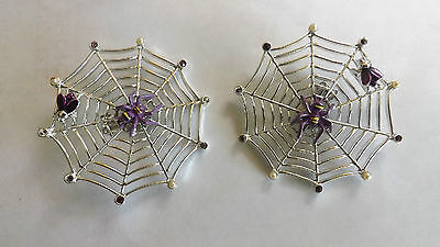 """Halloween"" earrings collectables, clip on"