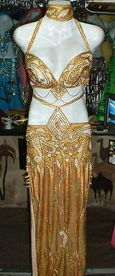 Professional New Belly Dance Costume Dress Fashion Made to Fit Handmade FC23