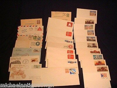 61 Antique Vintage Ephemera Stamped Post Cards Envelopes 1st Day Covers