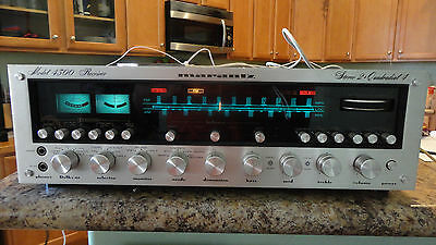 Marantz 4300 stereo-quad receiver Tested and works well! Please LOOK!!