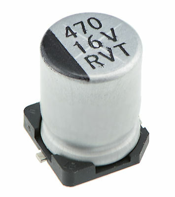 10 x SMD / SMT Electrolytic Capacitor - Various Values / Voltages