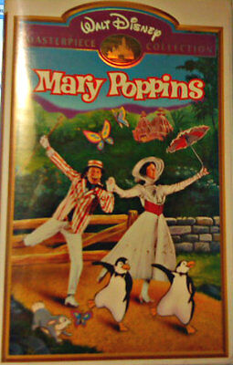 COLLECTIBLE WALT DISNEY MASTERPIECE COLLECTION: Mary Poppins (VHS, 1998)