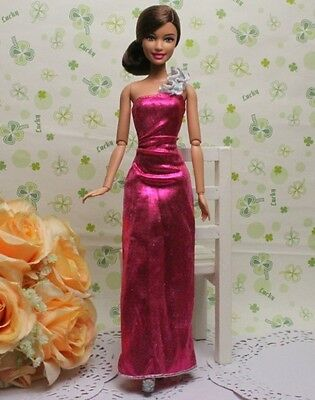 GORGEOUS Handmade The original clothes dress for barbies doll C242