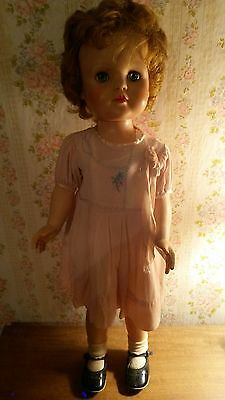 vintage 1950's  27 in doll by Eegee