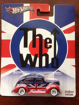 Hot Wheels 'The Who' FORD Fat Fendered '40 Coupe Real Riders Tommy Collectors Ed