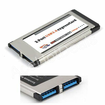 34mm express card USB 2.0 to DC 5v express card adapter for laptop computerWTUS