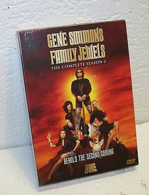 Gene Simmons Family Jewels The Complete Season 2 Shannon Tweed Kiss