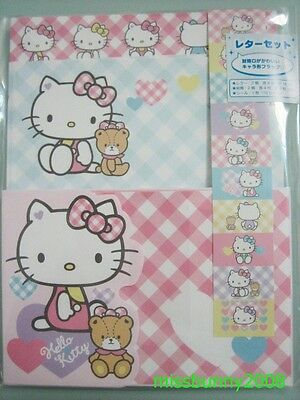 Sanrio Original 2014 Japan Hello Kitty Letter Set ~ NEW Free Shipping