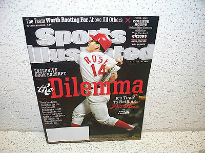 Sports Illustrated March 10 2014 Pete Rose Baseball Hall of Fame