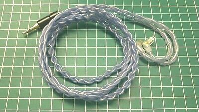 Ranko Acoustics RHA400 6N OCC Copper and Silver Plated Westone W4R Upgrade Cable