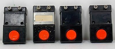 LIONEL OPERATING ACCESSORY CONTROL SWITCH #90 - LOT OF 4 - EXCELLENT CONDITION