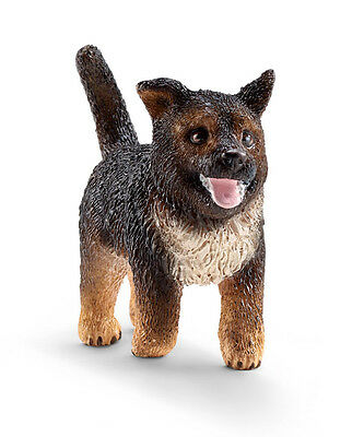 Schleich 16832 German Shepherd Puppy Dog Model Figurine Toy 2015 - NIP