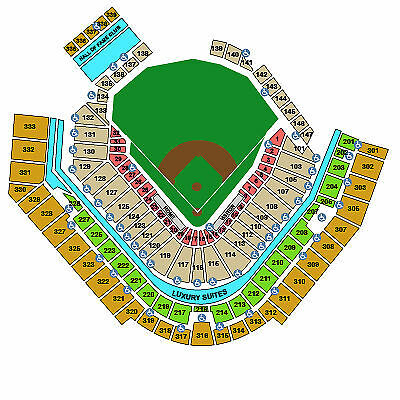1 ticket Pittsburgh Pirates vs Tigers Opening Day 4/13/15 PNC Park + a new hat