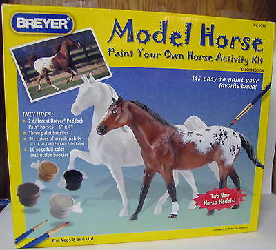 Breyer Horse Model Horse Paint Your Own Horse Activity Kit #4099