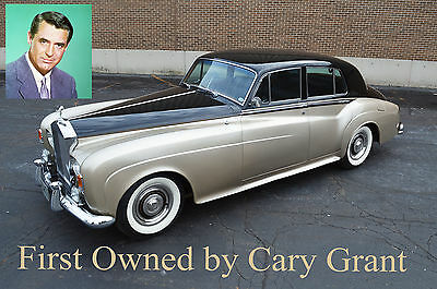 Rolls-Royce : Other - Silver Cloud III : Left Hand Drive Owned by Cary Grant!! low mileage, LHD, A/C & immaculate. The best of the best!