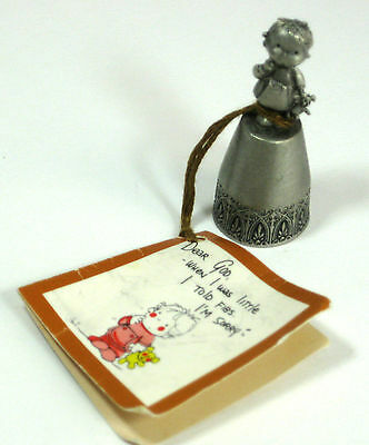 1983 Pewter Thimble Dear God When I was little I told Fibs I'm Sorry