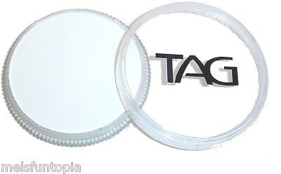 TAG Body Art 32g Pot Regular White Professional Face and Body Paint - Make up