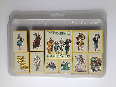 NEW Wizard of Oz - Rubber Stamp set from All Night Media