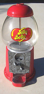 "Jelly Belly Bean Gumball Machine Bank 9"" Good"