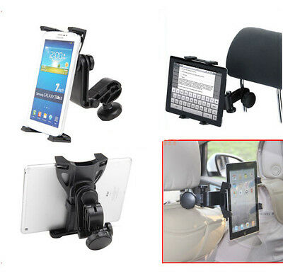 Universal Car Back Seat Headrest Mount Holder For iPad 2/3/4 Air Tablet PC