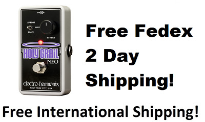 New Electro-Harmonix EHX Holy Grail Neo Reverb Guitar Effects Pedal