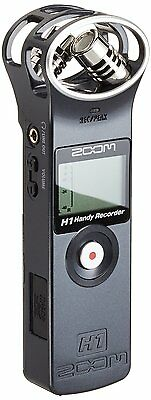 ZOOM handy recorder H1 Black ver.2.0 Linear PCM Audio JAPAN With tracking F/S