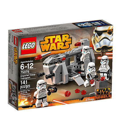 LEGO Star Wars Imperial Troop Transport From 75078 ( NO MINIFIGURES)