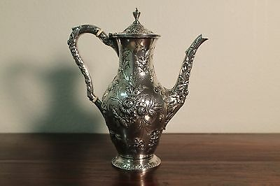 S. Kirk & Son Co. Sterling Silver Small Coffee Pot # 2050